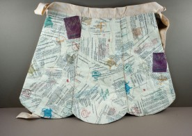 Altered Cookbook Apron by Ruth Krug