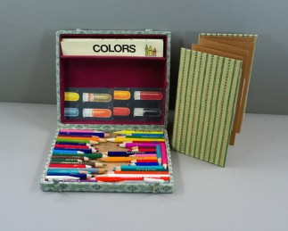 Forty Pencil Stubs by Marilyn Stablein