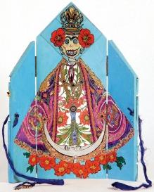 Dia de los Muertos Hibiscus Queen by Collins Redman