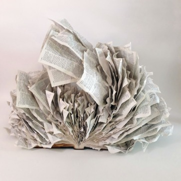 Altered Book #75 by s.c. thayer