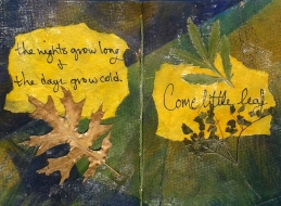 Come Little Leaf by Carol Pava