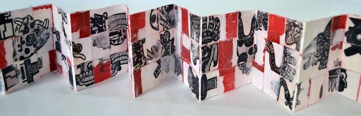 Petlamoxtli (Woven Book) by Moira Garcia