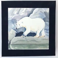 Polar Bears, East Greenland by Mary Sweet